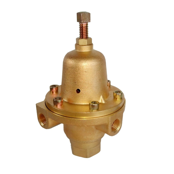 Factory supplied Two Stage Pressure Reducing Regulator -